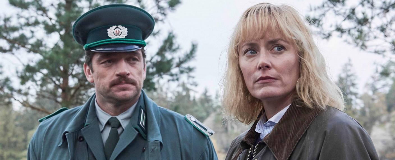 """""""Walpurgisnacht"""": Karl Albers (Ronald Zehrfeld) und Nadja Paulitz (Silke Bodenbender) – Bild: ZDF/Julie Vrabelova"""