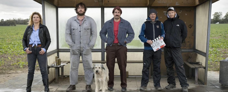 """Warten auf'n Bus"""" rbb Miniserie startet im April – fernsehserien.de"""