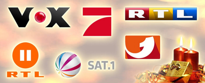 Weihnachts-Highlights 2015 bei RTL, ProSieben, Sat.1 und Co. – Spielfilme, Serien, Shows und Kinderprogramm