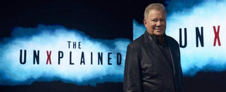 """William Shatner als Moderator der Doku-Reihe """"The UnXplained"""" – Bild: History Channel"""