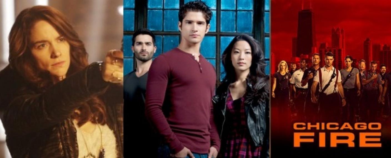 """""""Wynonna Earp"""", """"Teen Wolf"""" und """"Chicago Fire"""" – Bild: Syfy/MTV/NBC"""