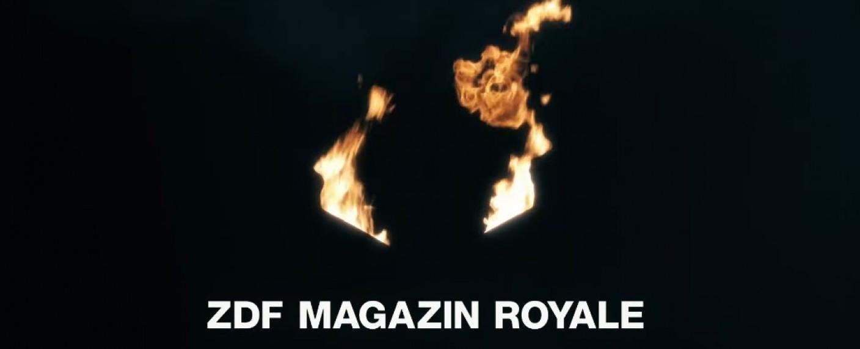 """""""ZDF Magazin Royale"""" – Bild: ZDF/Screenshot"""