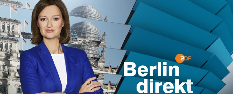 Bettina Schausten freut sich auf die diesjährigen ZDF-Sommerinterviews – Bild: ZDF / C. Sauerbrei