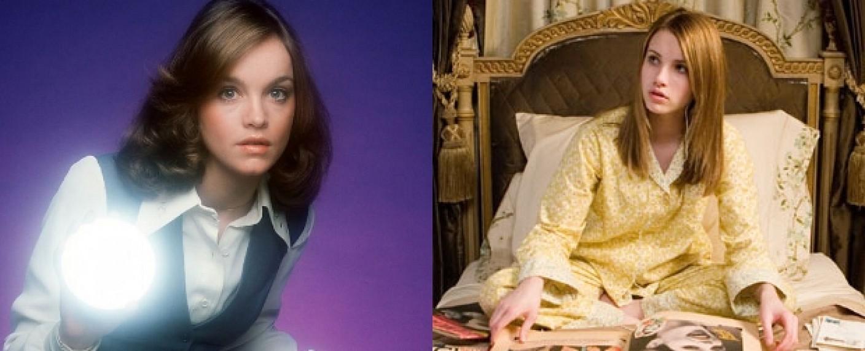 Zwei frühere Inkarnationen von Nancy Drew: Pamela Sue Martin (1978) und Emma Roberts (2007) – Bild: ABC / Warner Bros.