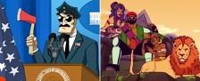 """""""Axe Cop"""" und """"Major Lazer"""": Zeichentrick-Nachschub für ProSieben Fun – Deutschlandpremiere ab Ende Juli beim Pay-TV-Sender – Bild: FXX/"""