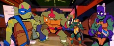 """Ab sofort online: Neue """"Turtles""""-Serie mit Stimmen von Tramitz und Freshtorge – """"Der Aufstieg der Teenage Mutant Ninja Turtles"""" bei Nickelodeon – Bild: Nickelodeon"""
