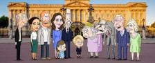 """Royals werden in satirischer Animationsserie """"The Prince"""" aufs Korn genommen – Die britische Königsfamilie aus der Sicht des designierten Thronfolgers – Bild: HBO Max"""