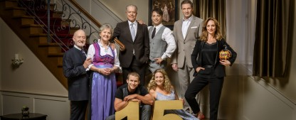 """""""Sturm der Liebe"""" ist erfolgreichstes Streaming-Format deutscher TV-Sender – ARD-Telenovela feiert 15-jähriges Jubiläum – Bild: ARD/Christof Arnold"""