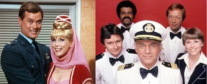 """Sat.1 Gold nimmt """"Bezaubernde Jeannie"""" und """"Love Boat"""" ins Programm – Serienklassiker erweitern Nostalgieschiene – Bild: Sony Pictures Television/CBS Television Distribution"""