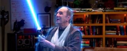 """""""The Big Bang Theory"""": Schauspielveteran Bob Newhart kehrt zurück – Auftritt als Jedi am Vorabend des """"Star Wars VII""""-Starts – Bild: CBS"""