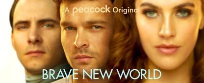 """""""Brave New World"""": Entertainment-Soma für das Volk – Review – Aldous Huxleys Romanklassiker aufwendig produziert, aber mit Thriller-Einschüben verwässert – Bild: Peacock"""