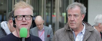"""Moderator Chris Evans startet mit Autoshow """"Top Gear"""" Anfang Mai durch – BBC zeigt Weihnachtsspecial mit Vorgänger Jeremy Clarkson – Bild: WENN / BBC"""