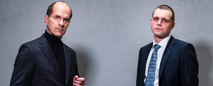 """Wirecard-Skandal: Termin für TVNOW-Verfilmung mit Christoph Maria Herbst steht fest – Ex-""""Stromberg"""" wird zum Wirecard-Chef – Bild: TVNOW/Gordon Muehle"""