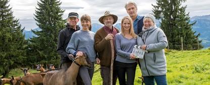 """""""Daheim in den Bergen"""": ARD-Heimatreihe kehrt im Juni zurück – Der Zwist der Leitners und Hubers geht in die nächste Runde – Bild: ARD Degeto/ Erika Hauri"""