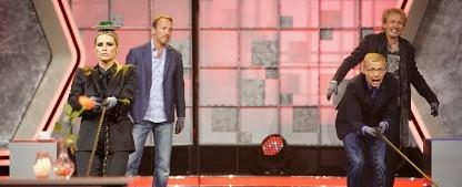 """Quoten: """"Jauch-Gottschalk-Schöneberger-Show"""" besiegt """"Genial daneben""""-Schlagershow – ZDF räumt mit Krimis und """"heute-show""""-Comeback ab – Bild: MG RTL D / Stefan Gregorowius"""