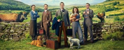 """""""Der Doktor und das liebe Vieh"""" wird um eine zweite Staffel verlängert – Erste Staffel plus Weihnachtsspecial feiert im Dezember Deutschlandpremiere – Bild: Channel 5"""