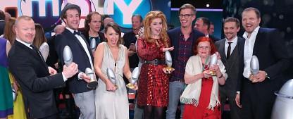"""""""Comedypreis 2013"""": Kebekus und Pastewka sahnen ab [2. UPDATE] – Sonja Zietlow und Daniel Hartwich nehmen Preis doch an – Bild: RTL/Stefan Gregorowius"""