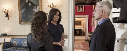 """Navy CIS"": Präsidentengattin Michelle Obama besucht CBS-Serie – Gibbs kommt ins Weiße Haus – Bild: Official White House Photo by Lawrence Jackson via CBS"