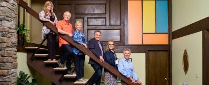 """""""Drei Mädchen und drei Jungen"""": Umbau des Brady-Bunch-Hauses schafft es ins deutsche TV – """"Retro-Haus"""" wird von HGTV nach Serien-Vorbild renoviert – Bild: HGTV"""