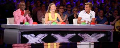 """Samstagsquoten: """"Supertalent"""" gewinnt Show-Vierkampf mit Tiefstwert – """"Schlag den Star"""" beim jungen Publikum beliebt, """"Maus""""-Jubiläum bei den Älteren – Bild: RTL/Stefan Gregorowius"""