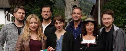 """""""Die wilde Kaiserin"""": ZDF dreht neue Film-Reihe in Tirol – """"Stromberg""""-Mitglied Diana Staehly als Städterin in den Bergen – Bild: ZDF/Erika Hauri"""