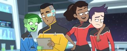 """""""Star Trek: Lower Decks"""": Die Fähnriche aus dem Schiffsbauch müssen sich erst noch beweisen – Review – Neue Trickserie ist noch kein relevanter Neueintrag in die """"Star Trek""""-Annalen – Bild: CBS All Access"""