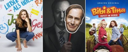 Die 10 wichtigsten Serien im April – Von Saul Goodman bis Bibi Blocksberg, von Gleichstellung bis Generation Q – Bild: Joyn/ProSieben/Johanna Brinckman; ZDF; Prime Video