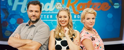 """""""Hund vs. Katze"""": Rütter und Boes laden zum Haustier-Duell – Neue RTL-Show stellt Vierbeiner in den Mittelpunkt – Bild: MG RTL D / Guido Engels"""