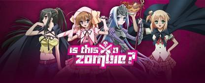 """ProSieben Maxx fragt """"Is This a Zombie?"""": Neuer Anime für die Freitagnacht – Zombie trifft auf Magical Girl – Bild: Studio Deen"""