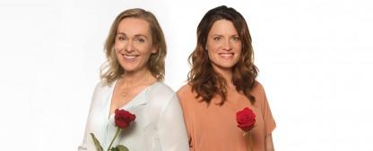 """""""Rote Rosen"""": Neue Staffel bringt erstmals zwei Heldinnen gleichzeitig – Jana Hora-Goosmann und Judith Sehrbrock ab Oktober auf der Suche nach Wahrheit und Liebe – Bild: ARD/Nicole Manthey (Montage)"""