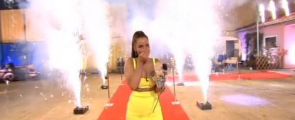 """Überraschungssieg: Janine Pink gewinnt """"Promi Big Brother"""" 2019 – Joey Heindle landet auf dem zweiten Platz – Bild: Sat.1/Screenshot"""