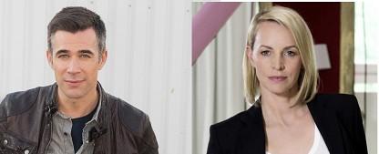 """""""Rote Rosen"""": Jo Weil und Simone Hanselmann verstärken ARD-Telenovela – Wiedersehen mit Stars aus """"Verbotene Liebe"""" und """"GZSZ"""" – Bild: ARD/Nicole Manthey/Sat.1/André Kowalski/Claudius Pflug"""