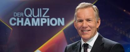 """""""Der Quiz-Champion"""": Erstes Promi-Special im Juli – Wickert, Atalay, Boning und von der Groeben treten an – Bild: ZDF/Svea Pietschmann"""