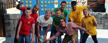 """""""Kazoom"""": Nickelodeon startet Kinder-Spielshow aus Freizeitpark – Neue Eigenproduktion mit Sascha Quade – Bild: Nickelodeon"""