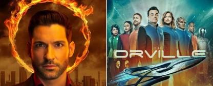 """Wie geht es mit """"Lucifer"""" und """"The Orville"""" bei ProSieben weiter? – Ungewissheit nach amerikanischen Senderwechseln geklärt – Bild: Warner Bros. TV/20th Century Fox TV"""