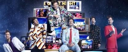 """Luke Mockridge schmeißt """"Die Sat.1 Weihnachtsfeier"""" – Weihnachtliche Sonderfolge der """"Greatnightshow"""" im Dezember – Bild: Sat.1/Boris Breuer"""