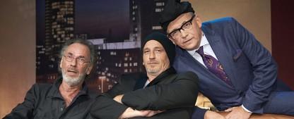 """Balder, Alsmann, Mittermeier und Co. besuchen """"Sträters Männerhaushalt"""" – Neue Folgen der WDR-Comedyshow mit Torsten Sträter – Bild: WDR/Melanie Grande"""