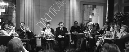 """Wieland Backes gibt """"Nachtcafé""""-Moderation auf – Rückzug nach 28 Jahren und 705 Ausgaben – Bild: SWR / Schröder"""
