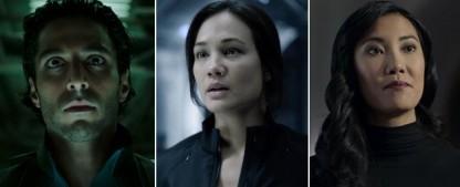 """""""The Expanse"""" befördert drei Darsteller in den Hauptcast – Keon Alexander, Nadine Nicole und Lily Gao auch in der fünften Staffel dabei – Bild: Prime Video"""