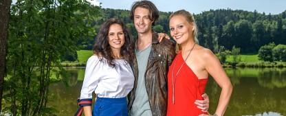 """""""Sturm der Liebe"""": Drei junge Neuzugänge verstärken den Hauptcast – Helen Barke, Julian Schneider und Jenny Löffler neu in ARD-Telenovela – Bild: ARD/Christof Arnold"""
