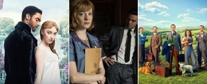 """Die 6 wichtigsten Serien im Dezember – Vom """"lieben Vieh"""" bis """"Bridgerton"""", von der """"Spy City"""" zu """"The Wilds"""" – Bild: Netflix; H&V Entertainment; Channel 5"""