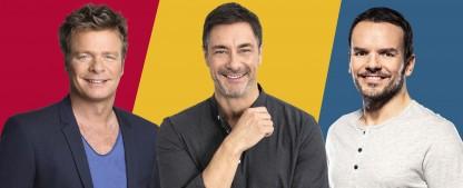 """Raten, reden, rühren: Neue RTL-Nachmittagsära startet heute – """"Kitsch oder Kasse"""", """"Marco Schreyl"""" und """"Hensslers Countdown"""" – Bild: TVNOW / Wischmeyer / Bernd-Michael Maurer / Philipp Rathmer"""