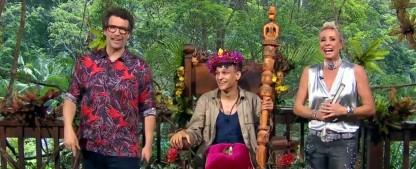 """Prince Damien ist der Dschungelkönig 2020 – """"DSDS""""-Sonnenschein gewinnt souverän die RTL-Show – Bild: Screenshot/TVNOW"""
