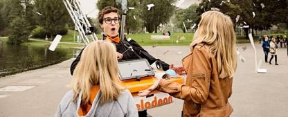 """""""Quiz Alaaarm"""": Nickelodeon startet Outdoor-Quiz – Neue Auflockerung zwischen den Sendungen – Bild: Nickelodeon"""