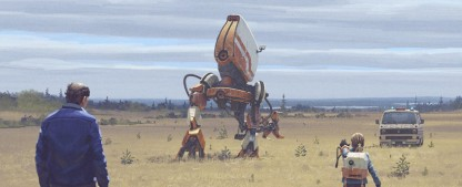"""""""Tales from the Loop"""": Trailer zur neuen Sci-Fi-Serie auf Amazon Prime Video – Jonathan Pryce erforscht mit einer Maschine das Universum – Bild: Amazon Prime Video"""