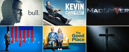 TV-Kritiken zur US-Season 2016/17 – US-Season 2016/2017: Ein kurzer Blick auf die neuen US-Serien – von Bernd Krannich – Bild: CBS, ABC, CBS, NBC, CBS, FOX