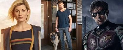 """Die 6 wichtigsten Serien im Januar – Serientipps von """"Titans"""" bis Doctor, vom """"Biest"""" bis zum """"Pass"""" – Bild: FOX Channel, SAT.1/Christoph Assmann, Netflix"""