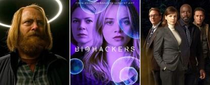 """Die 8 wichtigsten Serien im August – Von """"Biohackers"""" bis """"Devs"""", von """"Evil"""" bis """"Dirty John"""" – Bild: FX Networks, Netflix, CBS TV Studios"""