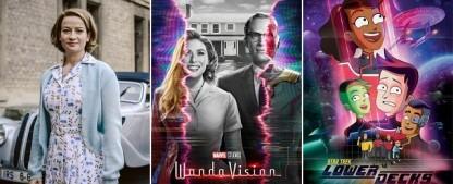 """Die 6 wichtigsten Serien im Januar – Von """"The Stand"""" bis """"Charité"""", von """"WandaVision"""" zu """"Lower Decks"""" – Bild: ARD/Stanislav Honzik; Disney+; Prime Video"""