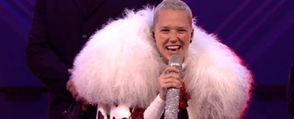 """Erste Enthüllung bei """"The Masked Singer"""": Der Dalmatiner ist Stefanie Heinzmann! – Review – Das musikalische TV-Lagerfeuer brennt wieder – Bild: ProSieben/Screenshot"""